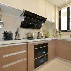 Kitchen Cabinet Desk Units Rugs For 厨房厨柜颜色装修效果图大全2019图片 厨房厨柜颜色设计效果图 最新厨房厨 方太厨电大户型三房两厅厨房装修效果图
