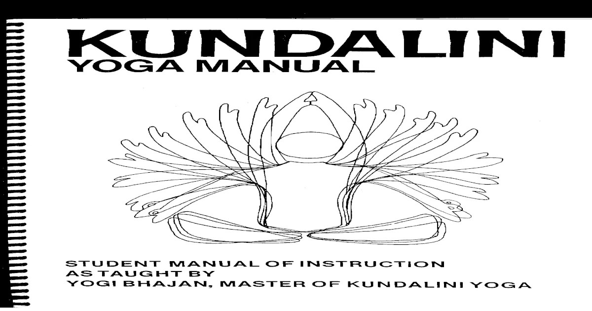 Yogi Bahjan Kundalini Yoga Manual PDF