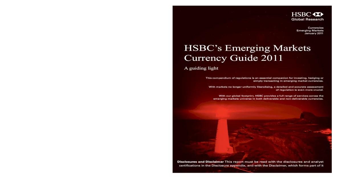 2011 Hsbc Em Asia Guideemergingmarketcurrencies2011