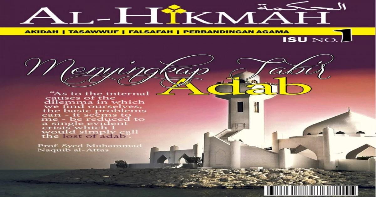 Religionswissenschaft Dan Adab Islam
