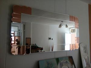 Espejo moderno decorativo para sala o comedor  Posot Class