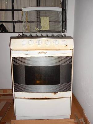Cocina indurama de 6 hornillas con horno rosticero  Posot Class