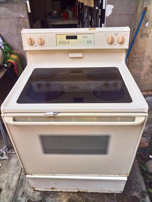 Cocina electrica vitroceramica whirlpool  Posot Class
