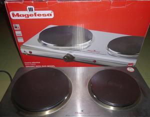 Cocina de mesa electrica dos hornillas imaco  Posot Class