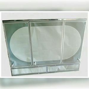 Gabinete para bao con espejo y luz botiqun  Posot Class