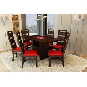 Comedor minimalista con 6 sillas Posot Class
