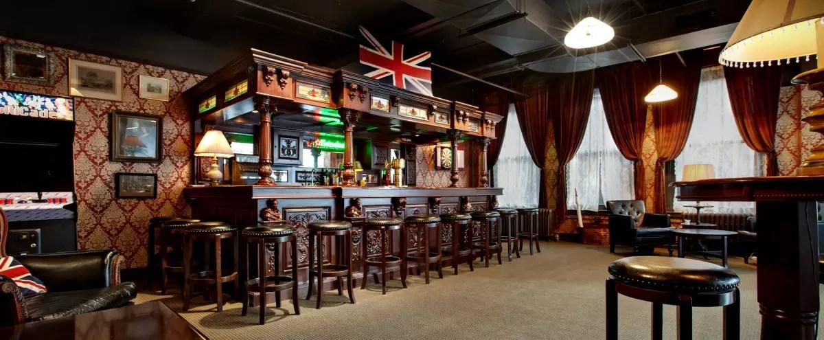 Office Boardroom Pub Set New York NY Production