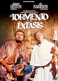Cartel de la película El tormento y el éxtasis