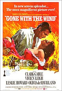 Cartel de la pelicula Lo que el viento se llevo