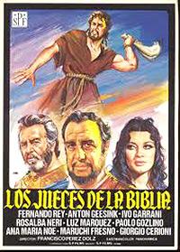 Cartel de la película Los jueces de la Biblia