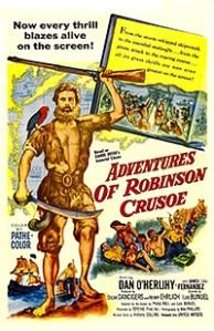 Cartel de la película Robinson Crusoe