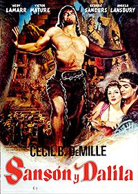Cartel de la película Sansón y Dalila