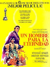 Cartel de la película Un hombre para la eternidad