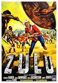 Cartel de la pelicula Zulu