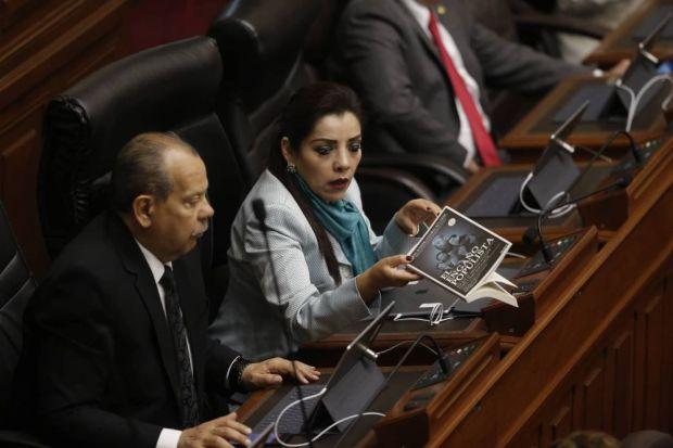 Congresista Alejandra Aramayo. (Mario Zapata/Perú21)