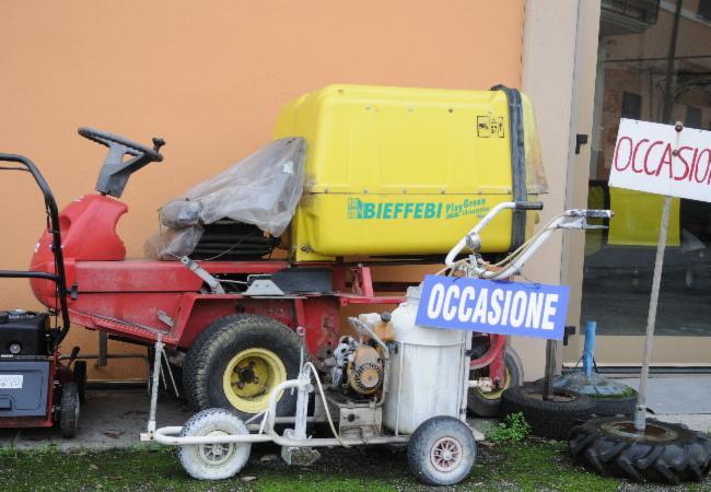 PULITI FRANCESCO  GIARDINAGGIO MACCHINE ED ATTREZZI  Via Milano 60  26100 Cava Tigozzi CR45