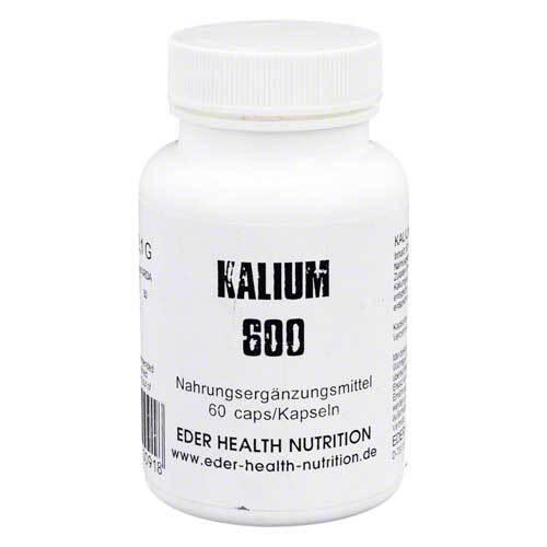 Kalium 600 Kapseln online bei Pharmeo kaufen