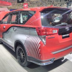 All New Kijang Innova Venturer Harga Grand Avanza Surabaya Admire Toyota With Body Graphics At 2017 Giias The Suv Looks Extremely Striking Sports Fancy