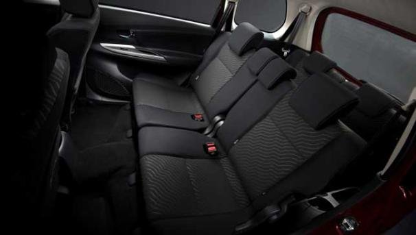 grand new veloz 1.3 2018 harga all kijang innova bekas toyota avanza to be launched in the philippines soon interior is equipped with black seats and door trim made of fabric