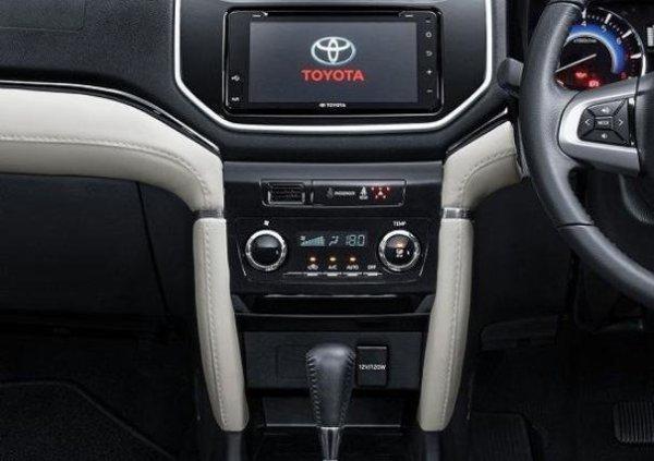 Toyota Rush 2018 dashboard