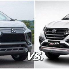 Xpander Vs Grand New Avanza Perbedaan E Dan G Mitsubishi Toyota Rush Your Vote Expander