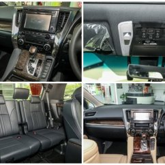 Interior All New Alphard 2018 Spesifikasi Previewing The Refreshed Toyota Vellfire In Malaysia Some Shots Of S