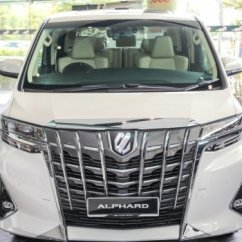 All New Alphard Facelift Kijang Innova Diesel Previewing The Refreshed 2018 Toyota Vellfire In Malaysia Now Welcomes A More Outstanding Full Height Grille Along With Chrome Trim Moving Outward To Split Headlights