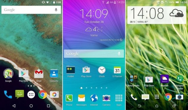 android interfaces
