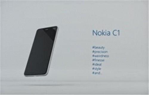 nokia c1 smartphone android sans microsoft