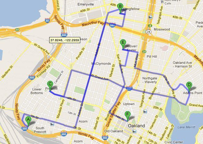 historique Google Maps