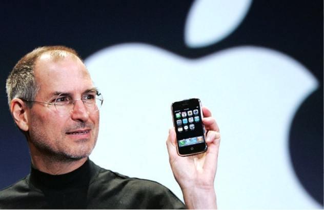 iphone 10 ans steve jobs