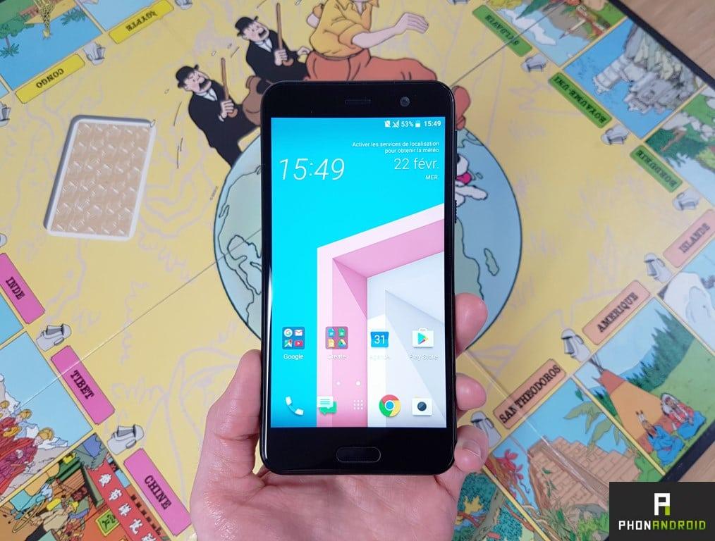 Test HTC U Play : le milieu de gamme au design brillant - PhonAndroid.com