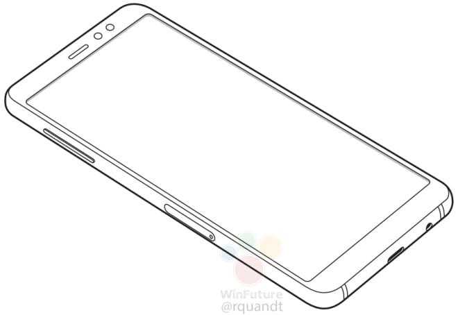 Samsung Galaxy A8 et A8+ (A5 et A7 2018) en vidéo : design
