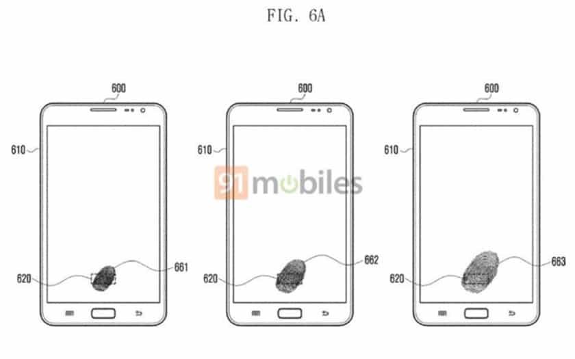 Galaxy Note 9 : capteur d'empreintes sous l'écran