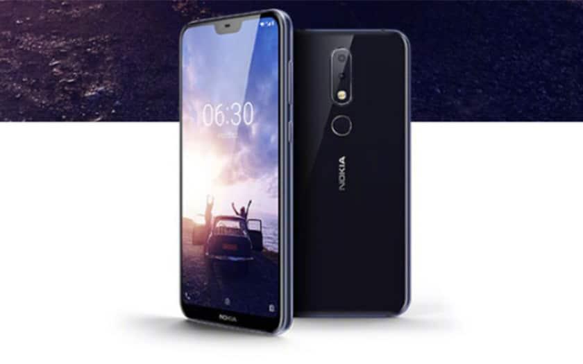 Nokia X6 officiel : Android Oreo 8.1. encoche et double capteur photo pour moins de 200€