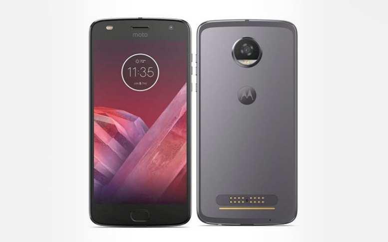 Motorola Moto Z2 Play Gris