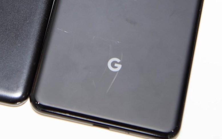 pixel 3 rayure