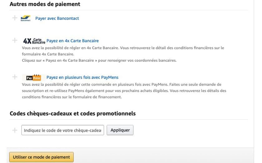 Amazon Avec Paymens Payez Votre Commande En 24 Fois