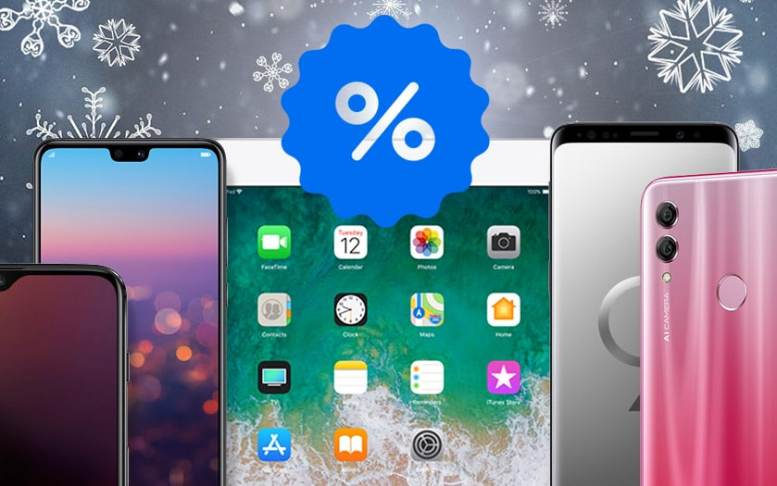 Smartphones et tablettes soldes hiver 2019 : les meilleures offres