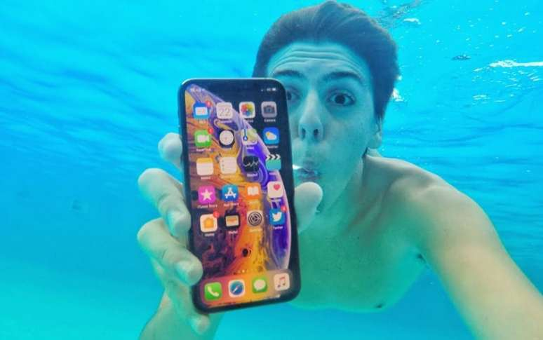 iphone 11 prendre photos sous eau