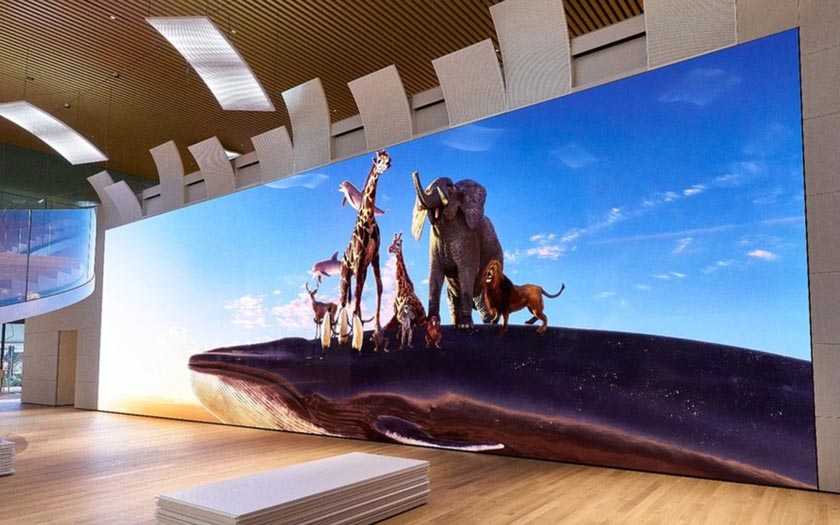 sony revele une tv 16k plus longue qu