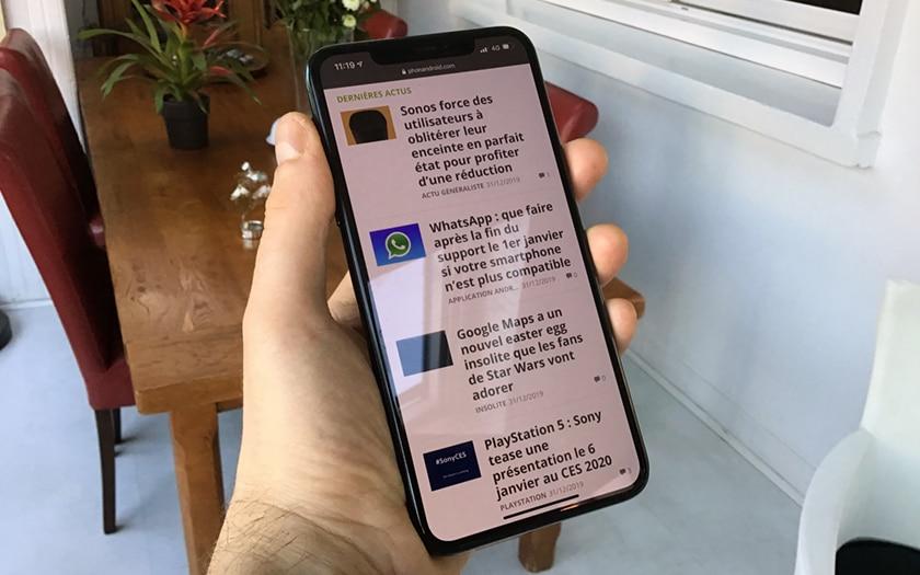 muesca de iPhone 11 Pro Max