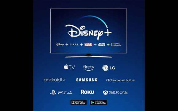 Dispositivos compatibles con Disney +