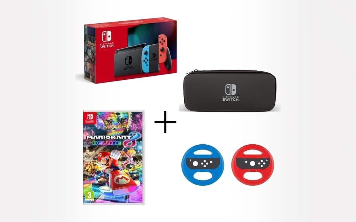 pack nintendo switch avec jeux et
