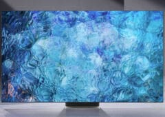 tv 4k microled de 110 pouces sortie