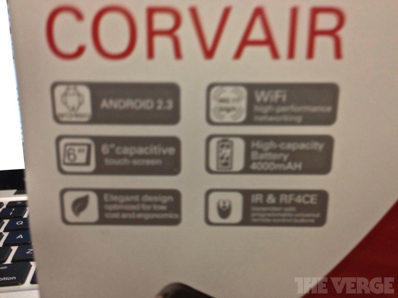 Spécificités Motorola Corvair