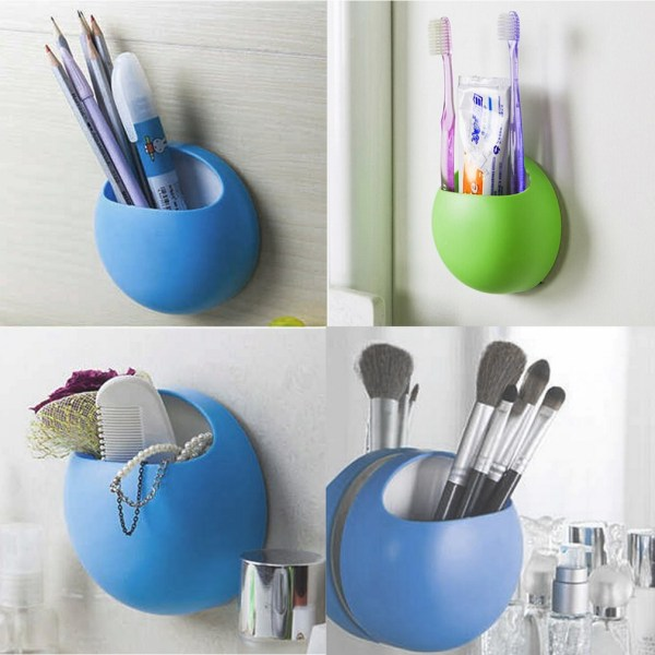 Suction Cup Bathroom Toothbrush Holders