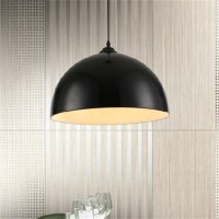 Retro Style Black White Red Metal Ceiling Pendant Light