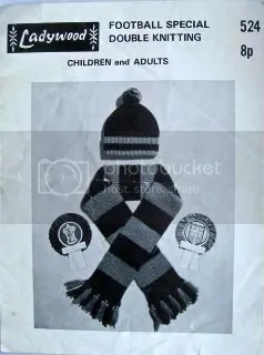football hat scarf pattern