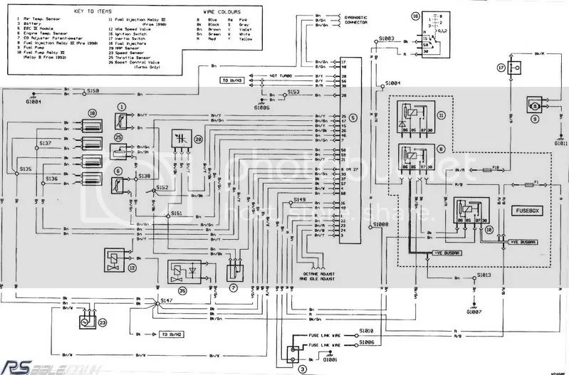 ford cosworth wiring diagram